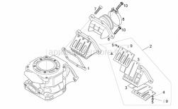 Engine - Carburettor Flange - Aprilia - Hex socket screw M6x25