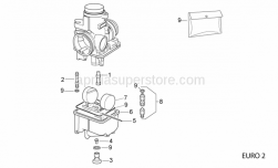 Engine - Carburettor Iii - Aprilia - Float pin