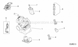 Engine - Carburettor Iiii - Aprilia - THROTTLE VALVE