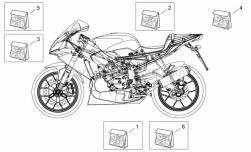 Frame - Decal - Aprilia - TECHNICAL SERIE TECNICA