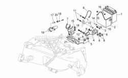Frame - Electrical System Ii - Aprilia - Gasket L25