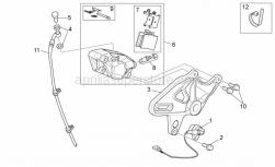 Frame - Rear Brake Caliper - Aprilia - Rear pads pair
