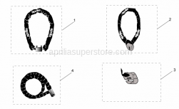 Accessories - Acc. - Mechanics Anti-Theft - Aprilia - APRILIA IRON GUARD 10-150