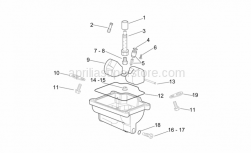 Engine - Carburettor Iii - Aprilia - Float chamber gasket