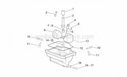 Engine - Carburettor Iii - Aprilia - Float pin