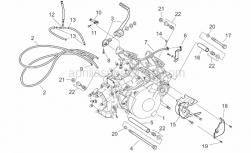 Engine - Engine/Carburettor I - Aprilia - Sprocket cover, grey