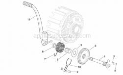 Engine - Starter Assembly - Aprilia - Kick starter gear z=34