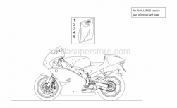 Frame - Decal - Aprilia - Fairing decal set