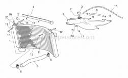 Frame - Water Cooler - Aprilia - Hose clamp 25-40 h8