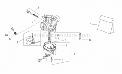 Engine - Carburettor Ii - Se-Ts - Aprilia - Gasket envelope