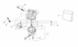 Engine - Carburettor Ii - Se-Ts - Aprilia - Gas valve adj.screw kit