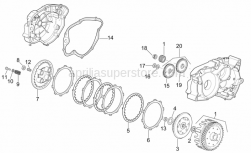Engine - Clutch - Aprilia - Cover gasket