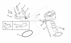 Engine - Cylinder Head - Aprilia - Spark plug BR9ES