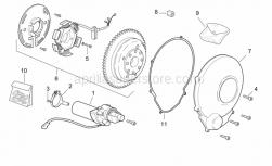 Engine - Ignition Unit - Aprilia - Cdi magneto assy