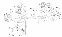 Frame - Fuel Tank - Aprilia - Filler cap