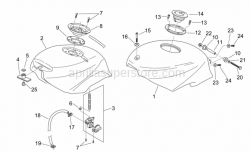 Frame - Fuel Tank - Aprilia - Hose clamp D 11,9