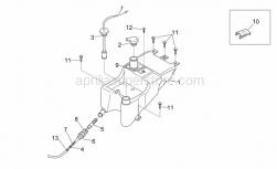 Frame - Oil Tank - Aprilia - Battery hook