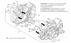 Engine - Crankcases I - Aprilia - Crankcase assy