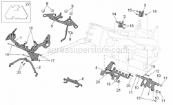 Frame - Frame II - Aprilia - Rubber spacer