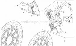 Frame - Front Brake Caliper - Aprilia - Split pin