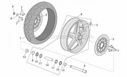 Frame - Front Wheel - Aprilia - Front LH wheel spacer
