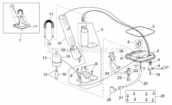 Frame - Fuel Pump - Aprilia - Fuel pump cpl.currently ABOLISHED BY Aprilia