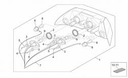Frame - Taillight - Aprilia - Gasket