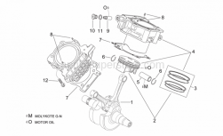 Engine - Crankshaft Ii - Aprilia - Piston pin 22x14x55