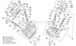 Engine - Cylinder Head And Valves - Aprilia - Hex socket screw