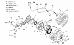 Engine - Ignition Unit - Aprilia - Idle gear