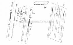 Frame - Front Fork I - Aprilia - Ohlins front fork kit
