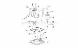 Frame - Fuel Pump I - Aprilia - Hose clamp 12,5x8