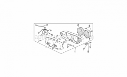 Frame - Taillight - Aprilia - Taillight