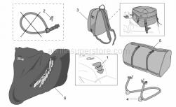 Accessories - Acc. - Various - Aprilia - Rear saddlebag
