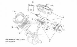 Engine - Crankshaft Ii - Aprilia - Pin 5x10