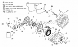 Engine - Ignition Unit - Aprilia - Washer a17