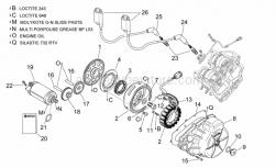 Engine - Ignition Unit - Aprilia - Screw w/ flange