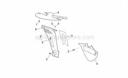 Frame - Front Body - Lockups - Aprilia - Water cooler spoiler, an.grey