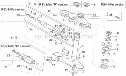 Frame - Steering - Aprilia - Dowel M5 l.8