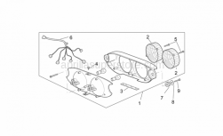 Frame - Taillight - Aprilia - Washer 4,3x16*