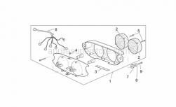 Frame - Taillight - Aprilia - Self-tap screw 3,9x14