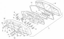 Frame - Dashboard - Aprilia - Dashboard piston