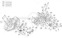 Engine - Crankcases II - Aprilia - Gasket