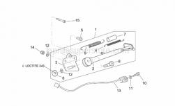 Frame - Central Stand - Aprilia - Hex socket screw M10x90