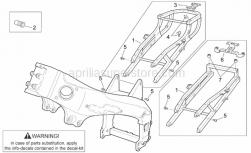 Frame - Frame I - Aprilia - Cable-guide