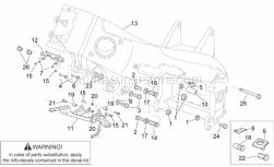 Frame - Frame III - Aprilia - Upper engine spacer