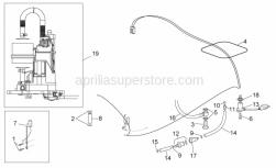 Frame - Fuel Pump - Aprilia - Fuel pipe 6x13