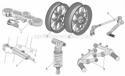 Accessories - Acc. - Cyclistic Components - Aprilia - OHLINS STABILIZER RSV 05-08 TUONO 07-08