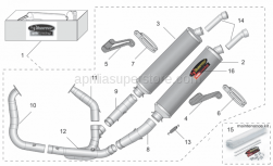 Accessories - Acc. - Performance Parts Ii - Akrapovic - AKRO RSV 05-08 DUAL TI FULL SYSTEM