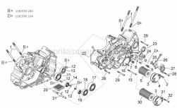 Engine - Crankcases II - Aprilia - Gasket ring 8x13